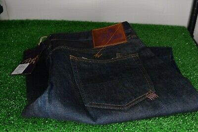 PRPS Jeans Barracuda Straight Leg Blue Made In Japan Size 33 • 143.11£