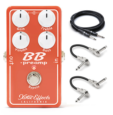£120.21 • Buy New Xotic Effects BB Preamp Boost Guitar Effects Pedal