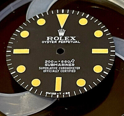 $ CDN314.24 • Buy Vintage Rolex Submarine 5512 Dial Refinished  High Quality  Meters First