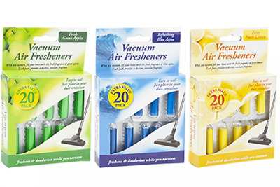 Vacuum Fresheners Scented Hoover Dust Bags Filters Cleaner Vac Air Freshener • 2.99£