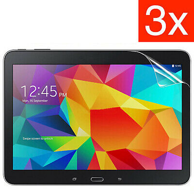 £2.49 • Buy 3 X Ultra Clear Screen Protector For Samsung Galaxy Tab 4 10.1 Inch T530 T535 UK