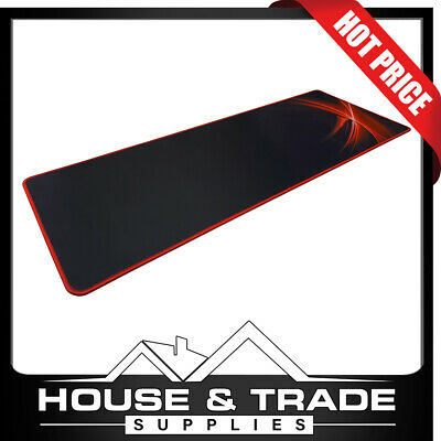 AU19.95 • Buy Gaming Keyboard And Mouse Pad Ultra Durable Rectangle Shape XM5101