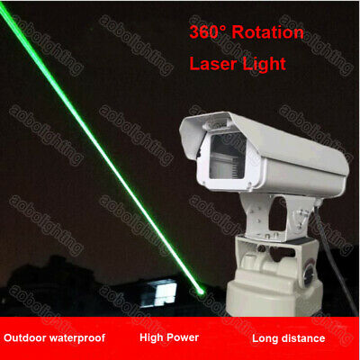 AU593.22 • Buy High Power 1W Green LASER Pest Outdoor Waterproof Animal Bird Repellent Light