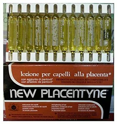 £9.49 • Buy New Placentyne Hair Loss Treatment For Damaged Hair 12 Pieces Of 10 Ml