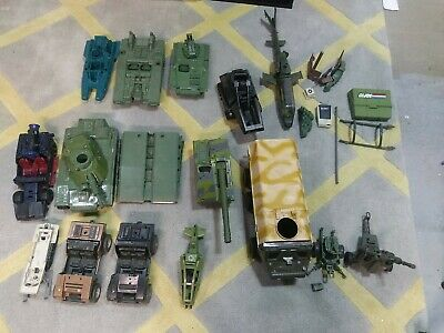 $ CDN133.43 • Buy Vintage 80's Hasbro Gi Joe Vehicle Lot - Most Incomplete. Some Damaged.many Pics