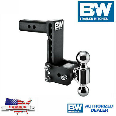 $ CDN379.34 • Buy B&W Hitches Tow & Stow 9  Adjustable Dual Ball Mount Receiver Hitch TS10043B
