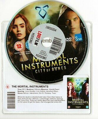 THE MORTAL INSTRUMENTS ( DVD Disc & Wallet  )  • 1.80£