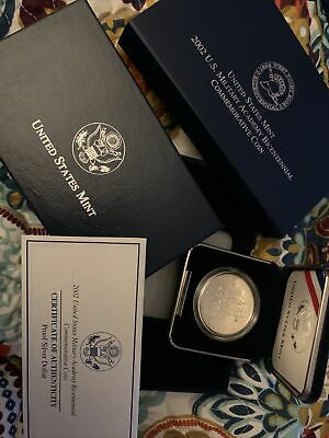 $62 • Buy 2002 US Mint Military Academy Bicentennial Silver Dollar Proof Coin