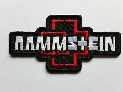 £3.25 • Buy Rammstein German Heavy Metal Punk Rock Music Band Embroidered Patch Uk Seller