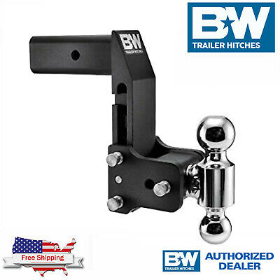 $ CDN430.09 • Buy B&W Tow&Stow 7  Adjustable Dual Ball Hitch 2.5  Shank For GM Multi Pro Tailgate