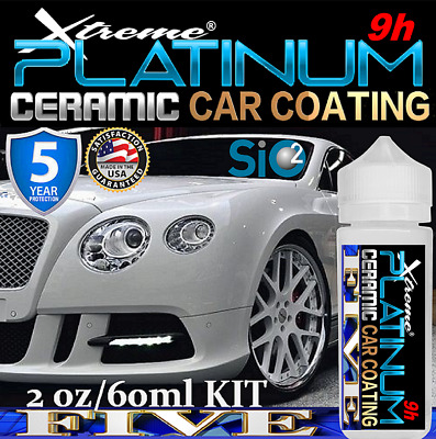 $49.95 • Buy Ultra Shine Nano Ceramic Car Coating Platinum 9h Armor Paint Protection Gloss