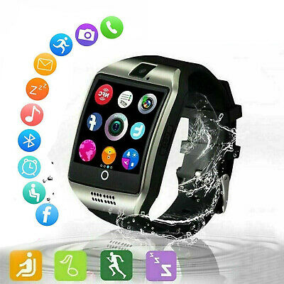 AU36.84 • Buy Q18 Android Bluetooth Smart Watch For Men Women Kids Waterproof Touch Watch