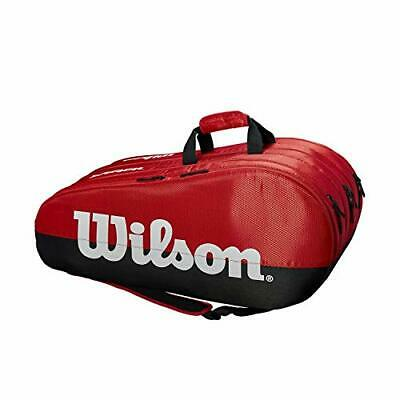 Wilson Tennis Racquet Bag, Team, 3 Compartments, Up To 15 Racquets, • 54.99£
