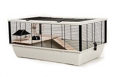 Little Friends Grosvenor Rat And Hamster Cage With Wooden Shelf And Ladder, 77 X • 58.13£