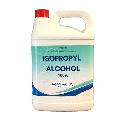 AU43.95 • Buy 100% Isopropyl AlcohoI Isopropanol IPA Rubbing OH 5L  AU Stock Fast Postage!!