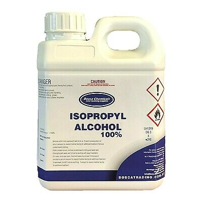 AU19.90 • Buy 100% Isopropanol Isopropyl AlcohoI IPA Rubbing OH 1L  AU Seller FAST POSTAGE!!
