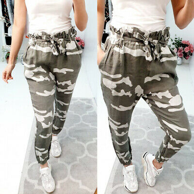 £8.82 • Buy Women Camouflage Tracksuit Bottoms Ladies Casual Jogging Joggers Trousers Pants