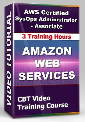 £4.34 • Buy AWS Cеrtifiеd SysOps Admin - Aѕѕосiate - CBT Video Training Course - 3 Hours