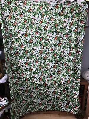 $ CDN20.61 • Buy 1950/60s Christmas Tablecloth Vintage