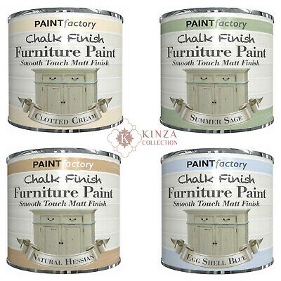 £5.99 • Buy 250ml New Chalk Finish Furniture Paint Smooth Touch Matt Finish - 5 Colours Home