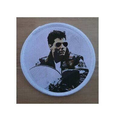£3.75 • Buy Tom Cruise Top Gun Iron Or Sew On Patch Badge Patches Badges