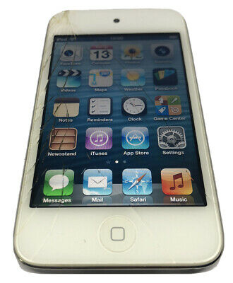 £36 • Buy Apple Ipod Touch 5th Generation White  16gb ( Cracked Screen & No Charger )