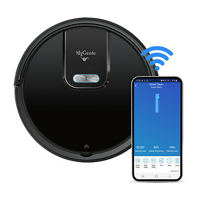 AU349.95 • Buy MyGenie WI-FI GMAX Robotic Vacuum Cleaner Mop App Control Dry & Wet Auto Robot
