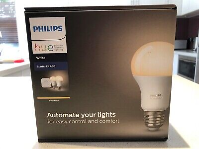 AU85 • Buy PHILIPS Hue White Starter Kit A60 - (E27)