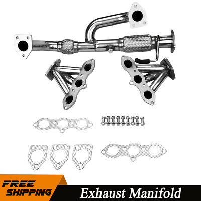 $135.99 • Buy RACING HEADER EXHAUST MANIFOLD For 1998-2002 ACCORD 3.0L V6/99-03 TL/CL J30A1 US