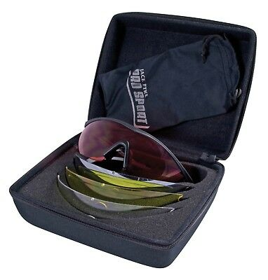 Pro Sport GP Cased Clay Game Shooting Safety Glasses 4 Interchangeable Lenses  • 44.95£