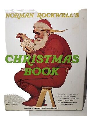 $ CDN2.53 • Buy 1979 Norman Rockwell Christmas Book (Carols, Stories, Poems, Recollections)