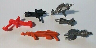 $27 • Buy MOTU He Man Weapons Lot From (Roboto, Modulok, Webstor, Man-E-Faces)
