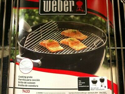 $ CDN21.53 • Buy Weber Hinged Cooking Grate For 18-1/2  One-Touch Kettle & Bar-B-Kettle Grill