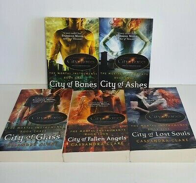 The Mortal Instruments Series By Cassandra Clare (Paperback) 1-5 • 15£