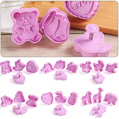 £3.01 • Buy Fondant Plunger Cake Tool Parent-child Christmas Biscuit Mold Cookie Cutter