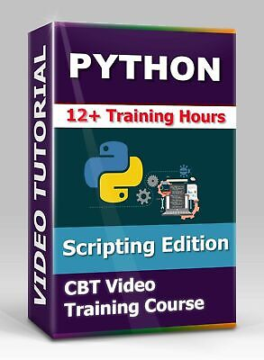 £4.34 • Buy Python Scripting Edition - CBT Video Training Course - 12 Hrs Of Video Training