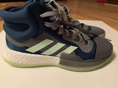 $ CDN48.40 • Buy Adidas Marquee Boost Basketball Shoes Mens Size 11.5 Blue Gray Green New