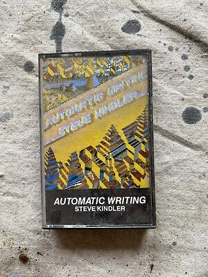 1985 Steve Kindler Automatic Writing Cassette Tape Global Pacific • 3.53£