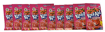 Kool Aid Strawberry .14oz X 10 Sachets (USA Import) • 10.49£