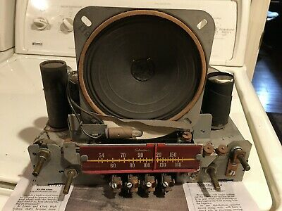 $ CDN27.69 • Buy Vintage Radio Chassis No. 101.808 Out Of  Silvertone Model 7054J Used
