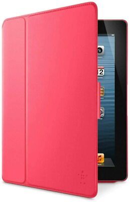 £5.49 • Buy Belkin Smooth FormFit Case With Stand For IPad 2, 3rd & 4th Gen - Color: Sorbet