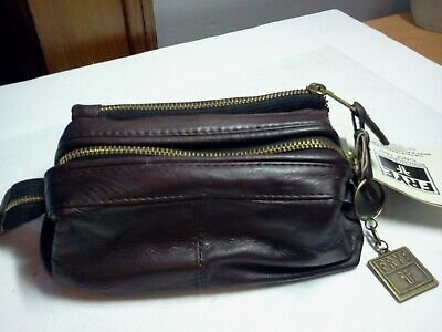 AU45.45 • Buy Frye Men's Leather Brown Brief & Accessories Travel Bag #963