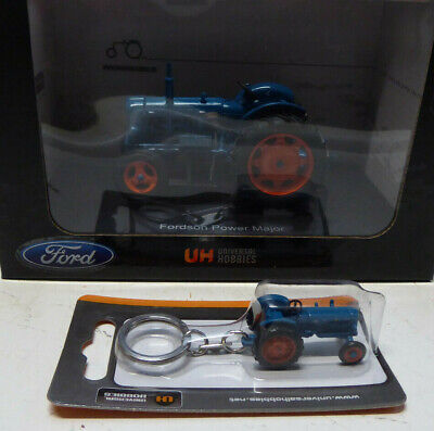 £54 • Buy Model Tractor FORDSON POWER MAJOR 1/32+ MATCHING KEYRING BY UH