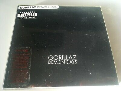 Gorillaz CD + DVD W/ PROMO STICKER Demon Days BLUR • 16.99£