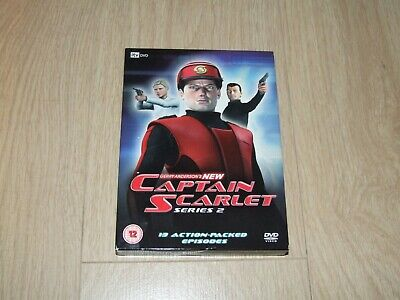 New Captain Scarlet - Series 2 (DVD, 2006, 4-Disc Set, Box Set) • 19.99£