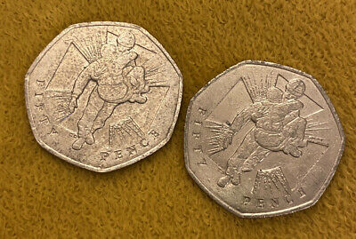 Fifty Pence 50p Commemorative World War 2 Ll Coin 2006 Wounded Soldier • 1.50£