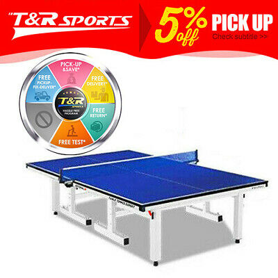 AU629.99 • Buy PRIMO 25MM Table Tennis Table / Ping Pong Table W/ Net Set Tournament Quality.