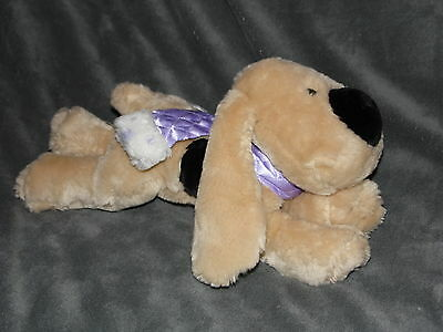 Tesco Scamp Dog Soft Toy Cream Comforter Lilac Scarf Chilly And Friends • 16.45£