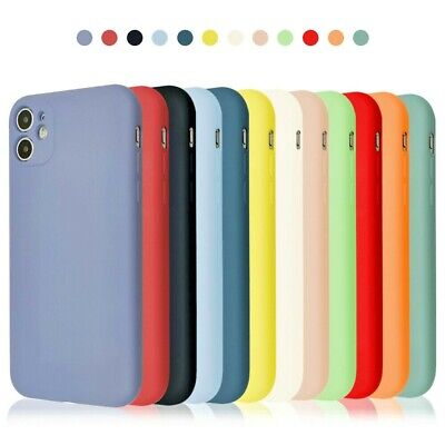 Genuine Original Silicone Case Cover For Apple IPhone 11 12 Pro Max X XR XS 7 8 • 3.65£