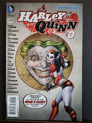 $ CDN15.12 • Buy 2013 Harley Quinn #0 1st Print DC New 52 Suicide Squad Amanda Conner VF 8.0